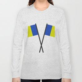 romania flag Long Sleeve T-shirt