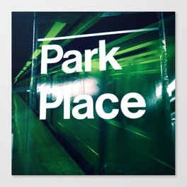 Park Pl Canvas Print
