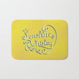Sunshine & Whiskey Bath Mat