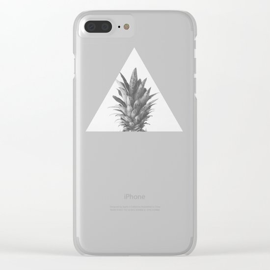 Pineapple Top II Clear iPhone Case