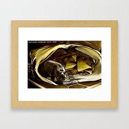 House Hippo Framed Art Print