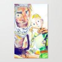 le petit prince Canvas Prints featuring Le Petit Prince by Halina  Jasińska photography