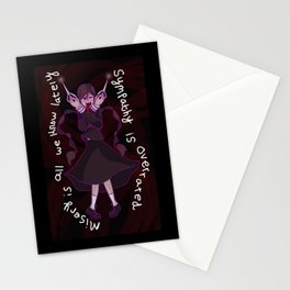 Dangan Ronpa - Sympathy is Overrated  Stationery Cards