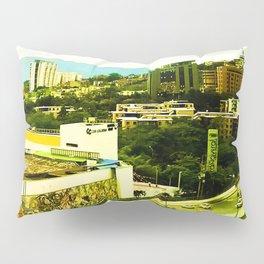 A warm city. Pillow Sham