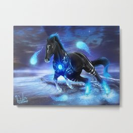 Warrior Inside Metal Print