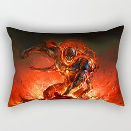 driven by the strength of the enemy Rectangular Pillow