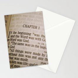 Book of John Stationery Cards