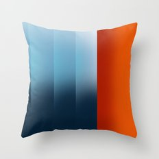 warm differences Throw Pillow