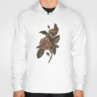 roses Hoodies featuring Roses by Jessica Roux