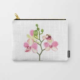Pink Orchid Carry-All Pouch