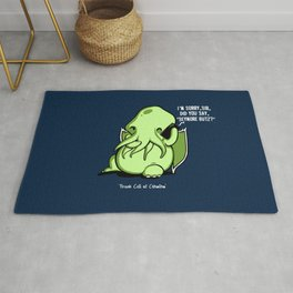 Prank Call of Cthulhu Rug