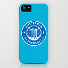 Amsterdam Badge iPhone Case
