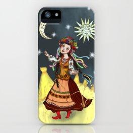 Slavic Rhapsody iPhone Case