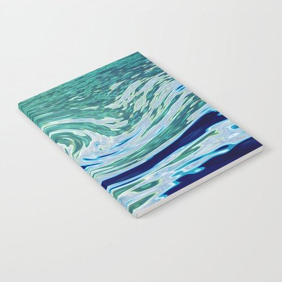 OCEAN ABSTRACT 2 Notebook