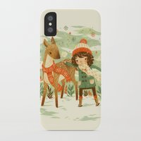 jon snow iPhone & iPod Cases featuring A Wobbly Pair by Teagan White