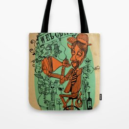 Welcome to the hell´s party Tote Bag
