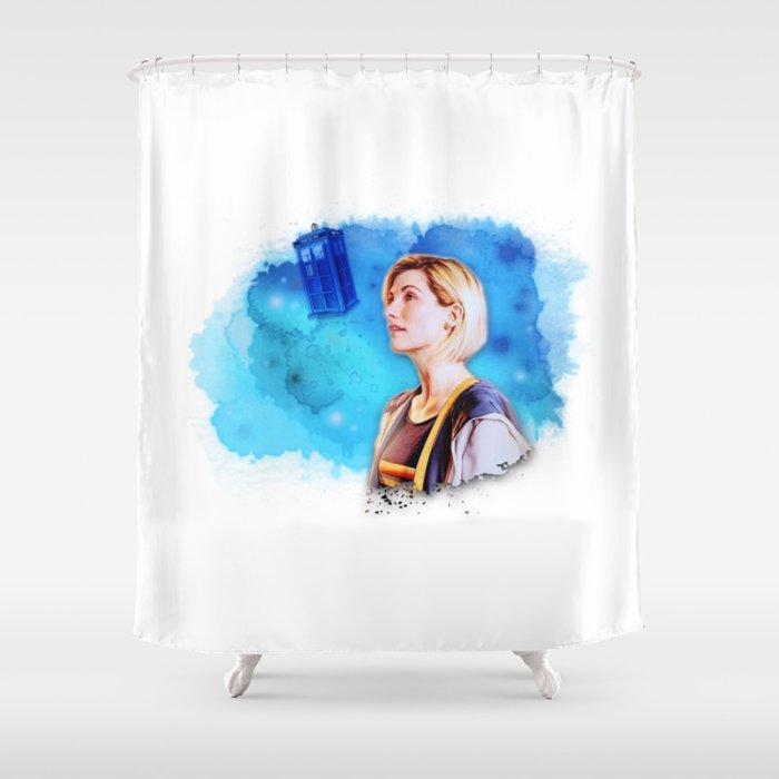 13th DW Shower Curtain