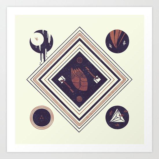 Beat Art Print