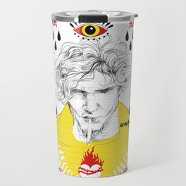 Teardrops for Layne Travel Mug
