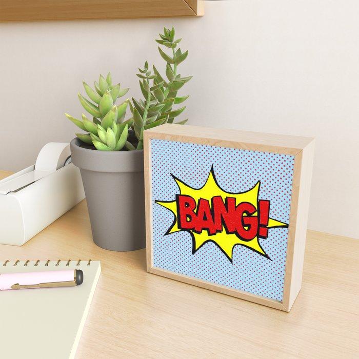 Bang! Framed Mini Art Print