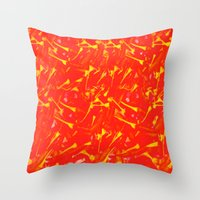china Throw Pillows featuring China by Fernando Vieira