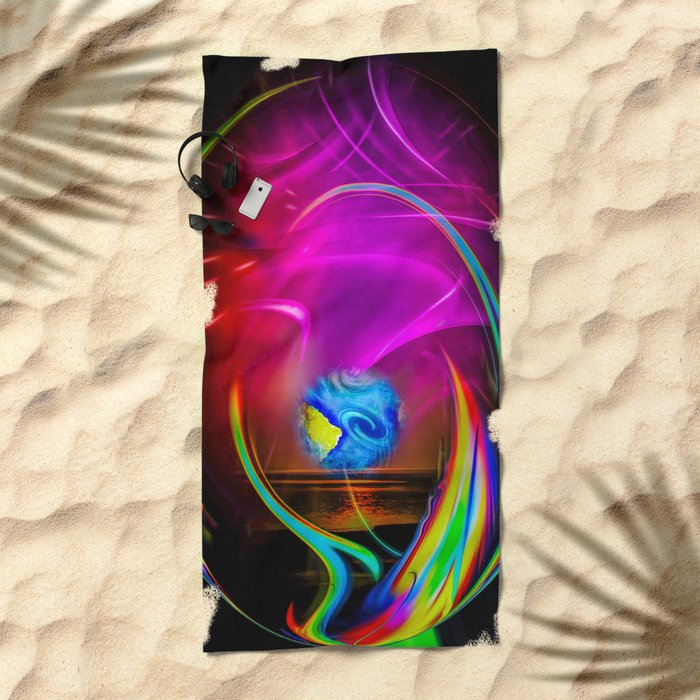 Abstract Perfection -  dreams come true Beach Towel
