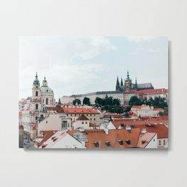 Prague Metal Print