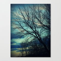 Merrimac Winter Sky Canvas Print