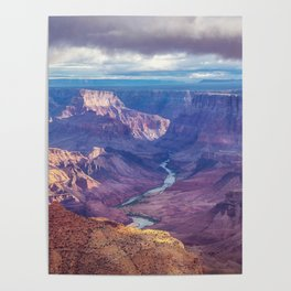 Grand Canyon and the Colorado River Poster