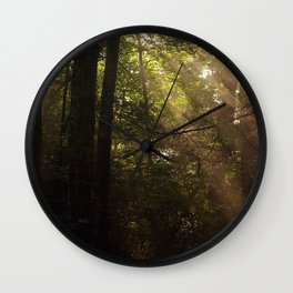 Sun Trees Wall Clock