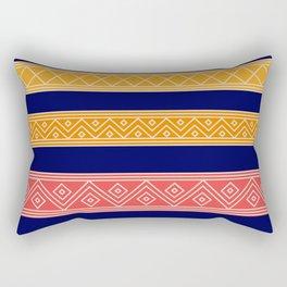 Colorful Yemeni ornament  Rectangular Pillow