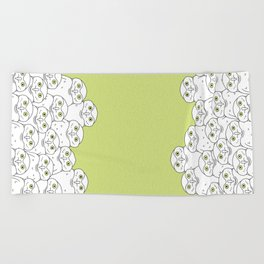Group of Owls Beach Towel