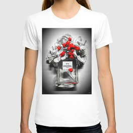 No 5 Black and White T-shirt
