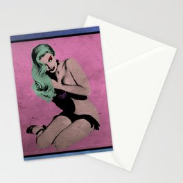 Pop Pin-Up Girls Stationery Cards