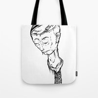 "ramen Tote Bags featuring ""RAMEN"" by Grantgrimmurray"