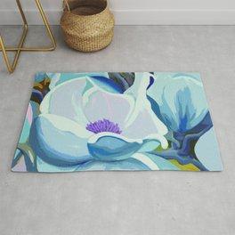 Blue Magnolia Rug
