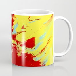 Crimson Wave Coffee Mug