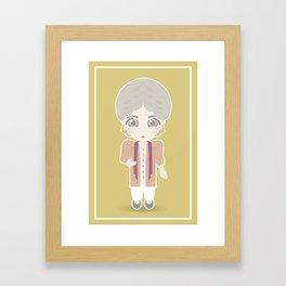 Girls in their Golden Years - Dorothy Framed Art Print