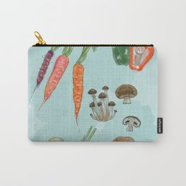 Veg Out. Carry-All Pouch