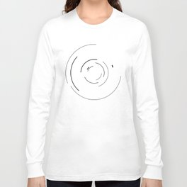 Orbital Mechanics Invert by Diagraf and Ewerx Long Sleeve T-shirt
