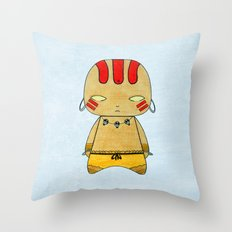 A Boy - Dhalsim Throw Pillow