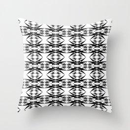 Staying Sharp Throw Pillow