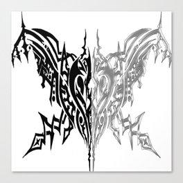 Tribal Arachne Plated and Black Canvas Print