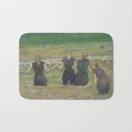 Paul Gauguin - Women Bathing (1885) Bath Mat