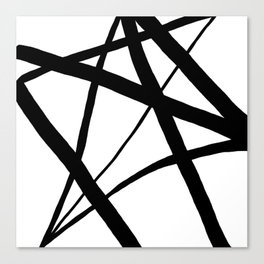 A Harmony of Lines and Shapes Canvas Print