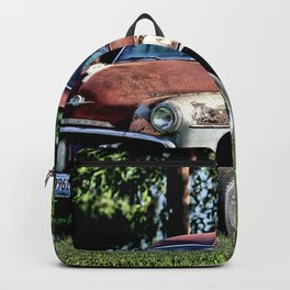 1952 Plymouth Cranbrook Seen Better Days Backpack