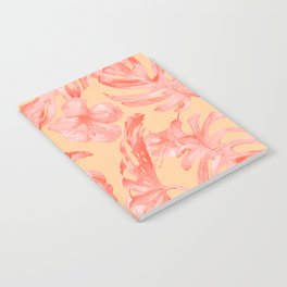 Tropical Monstera and Palm Party III Notebook