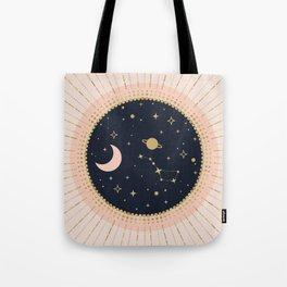 Love in Space Tote Bag