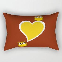 Hoo? Me? Rectangular Pillow