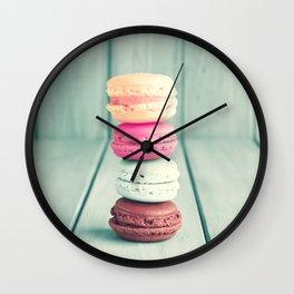 Pastel Pillar Rising Wall Clock